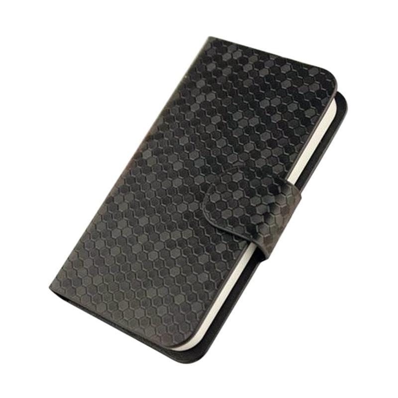 OEM Case Glitz Cover Casing for Huawei Y6 - Hitam