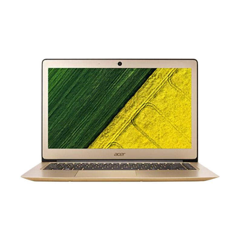 harga Acer Swift 3 SF314-51-50G3 Notebook - Gold [14 inch/ i5-7200U/ 4GB/ Win10] free JBL Go Speaker Blibli.com
