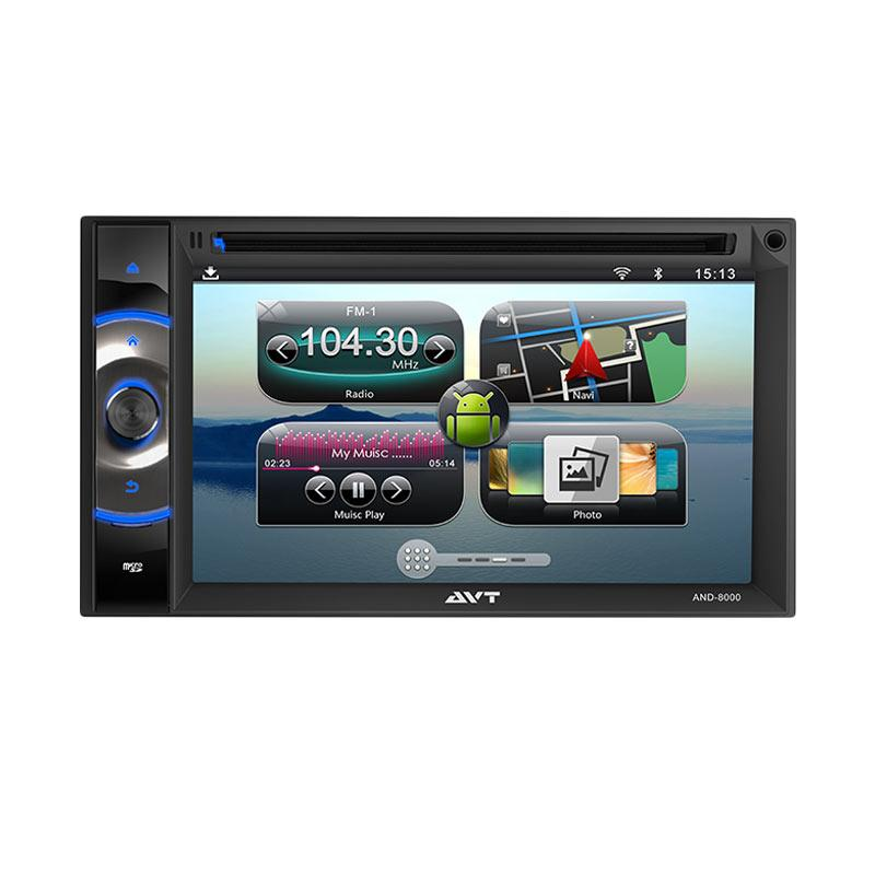 harga AVT AND 8000 Double Din Universal Android Headunit Blibli.com