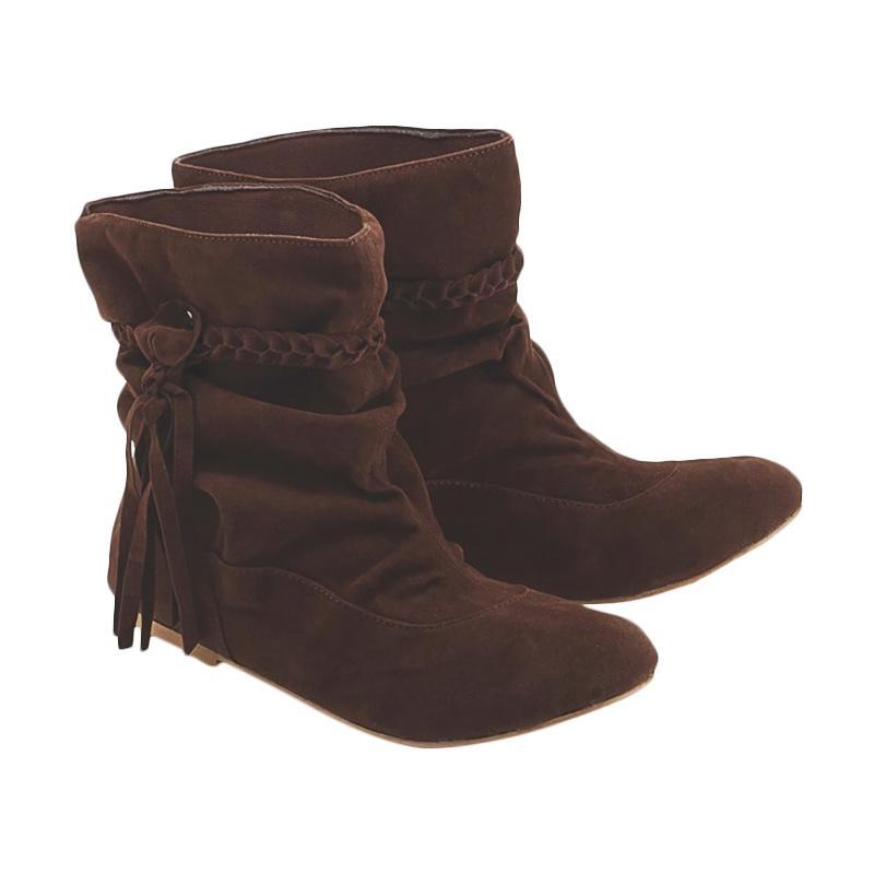 Blackkelly LDG 162 Sepatu Ankle Boots Wanita