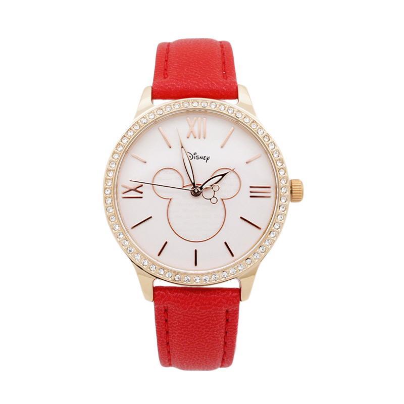 Disney MS11008-R Mickey Jam Tangan Wanita - Merah