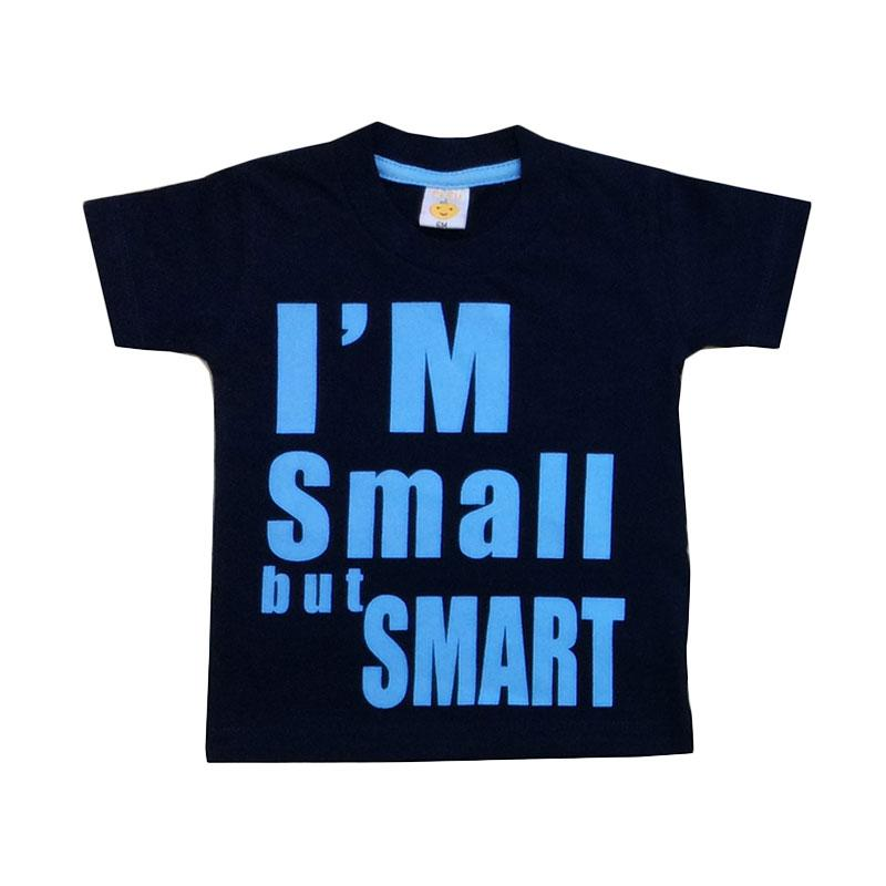 Pleu Small Smart T-shirt Anak Laki-laki - Navy