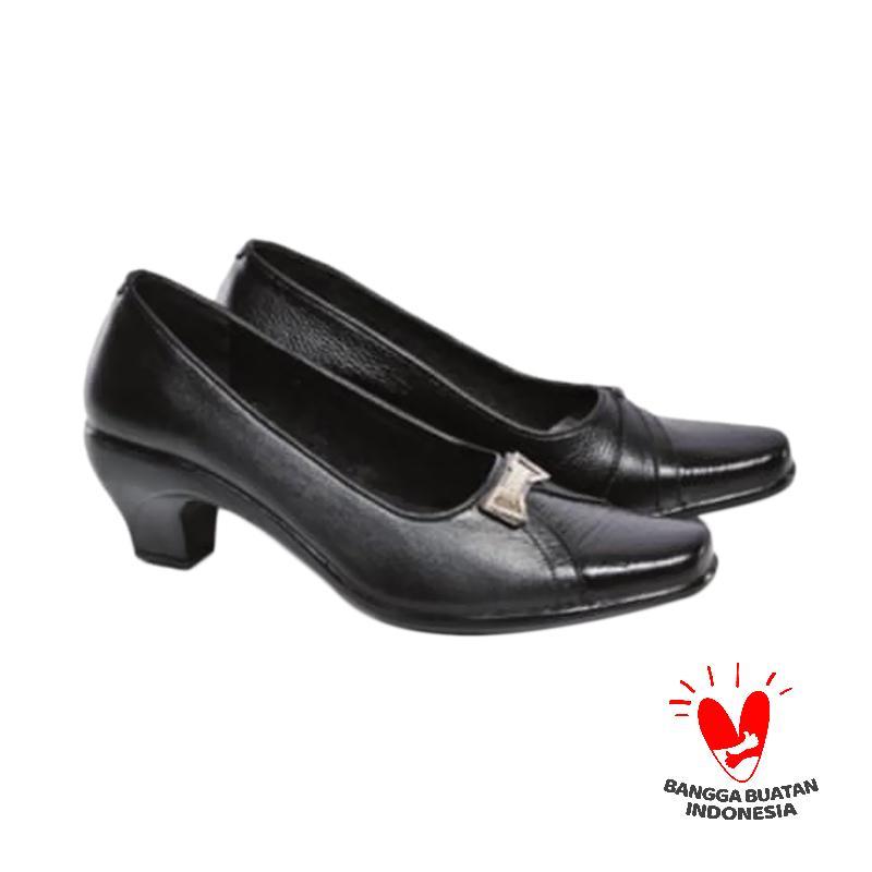 Spiccato SP 507.06 Sepatu Mid Low Heels - Hitam
