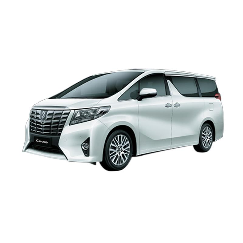 Toyota Alphard 3.5 Q A-T Mobil - White Pearl MM