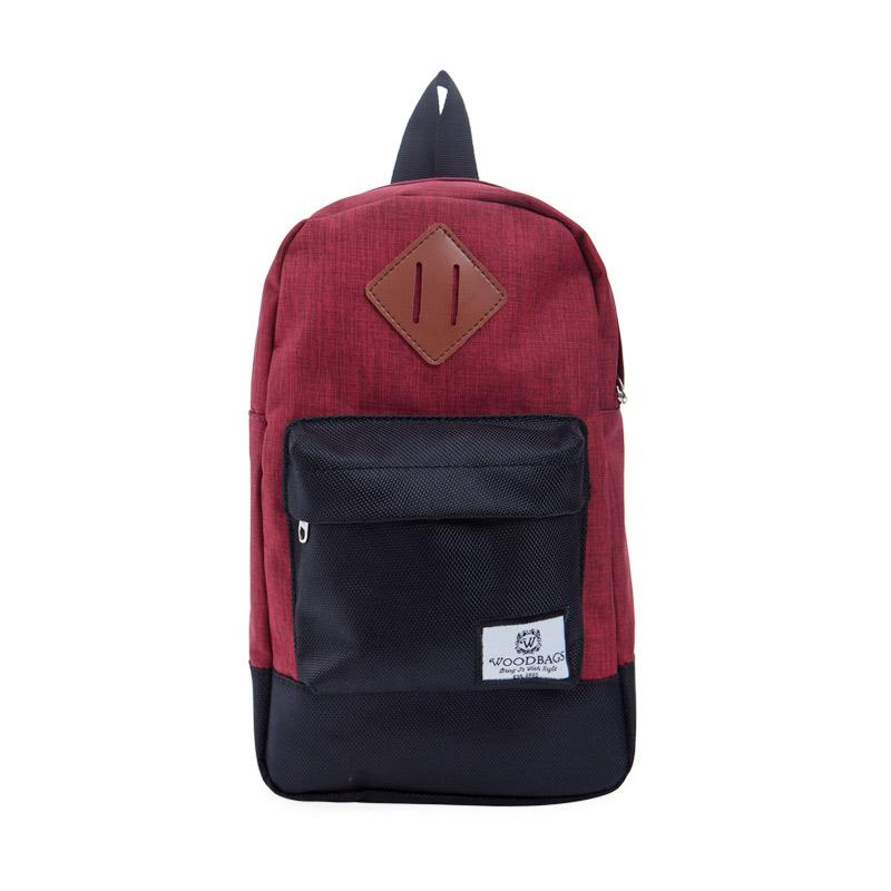 Woodbags S4 Original Shoulder Bag - Maroon