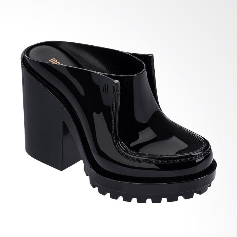 Melissa Panapana Mule Ad 32287 Sandal Wedges Wanita - Black