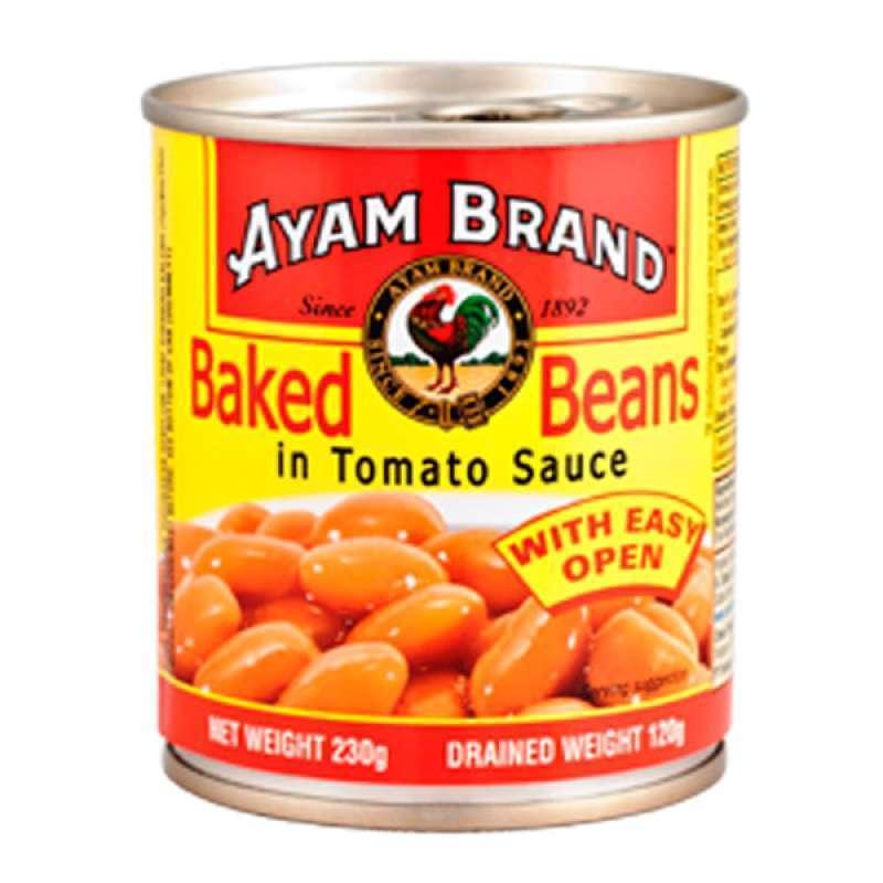 Jual Ayam Brand Can Food Baked Beans 230 Gr Online Maret 2021 Blibli