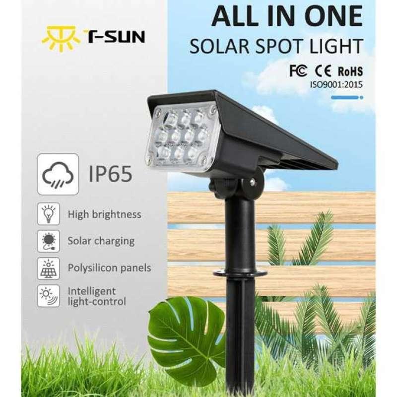 Jual Lampu Sorot Taman Tenaga Surya Dinding Pagar Solar Cell Waterproof 20 Led Online Maret 2021 Blibli