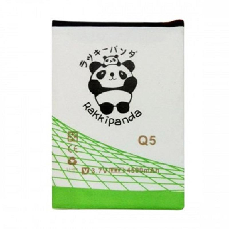 RAKKIPANDA Double Power IC Baterai for BlackBerry Q5