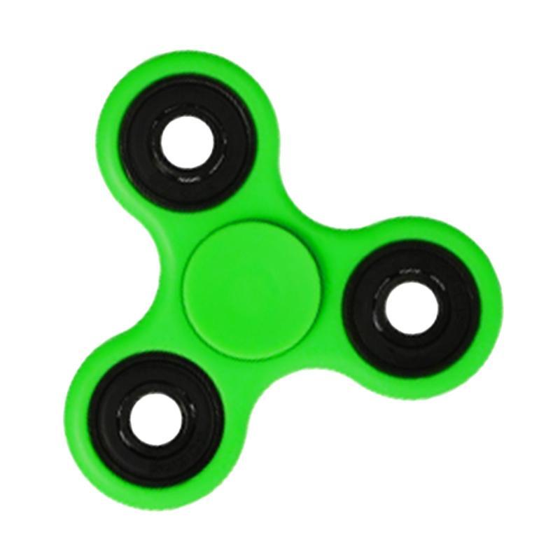 Aimons Hand Toys Focus Toys Games Fidget Spinner - Hijau