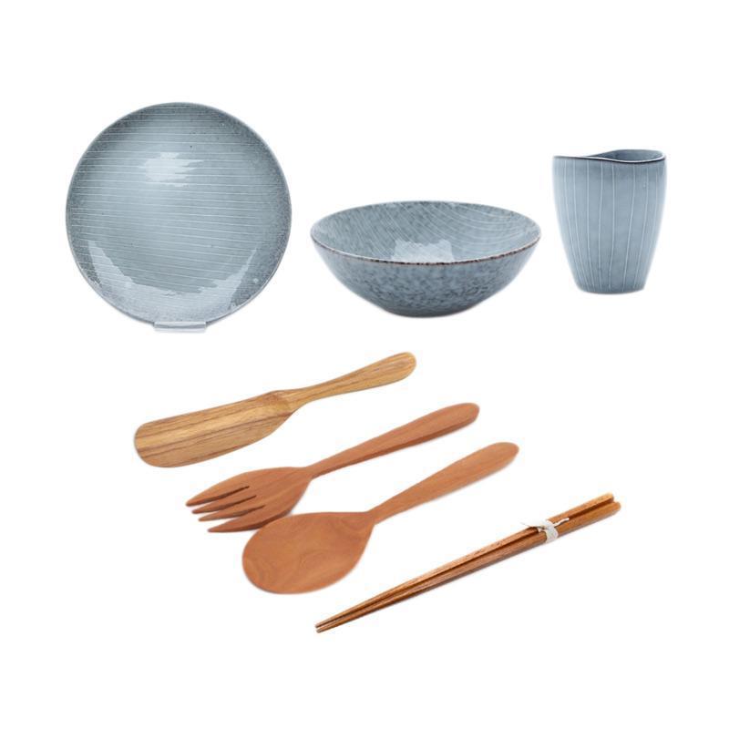harga Uchii Hampers Gift Box Keramik dan Kayu Paket Perlengkapan Makan Blibli.com