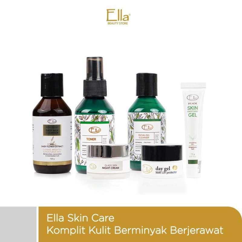 Jual Ella Skin Care Paket Kulit Berminyak Dan Berjerawat Terbaru Juli 2021 Blibli