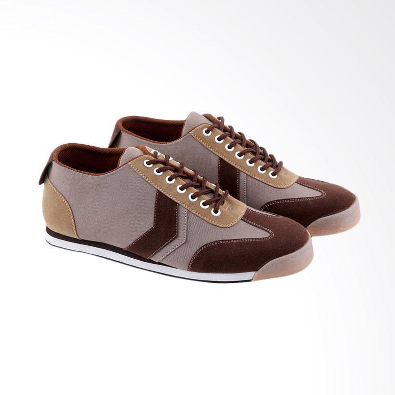 Garucci Sneakers Shoes Pria - Brown GNR 1247