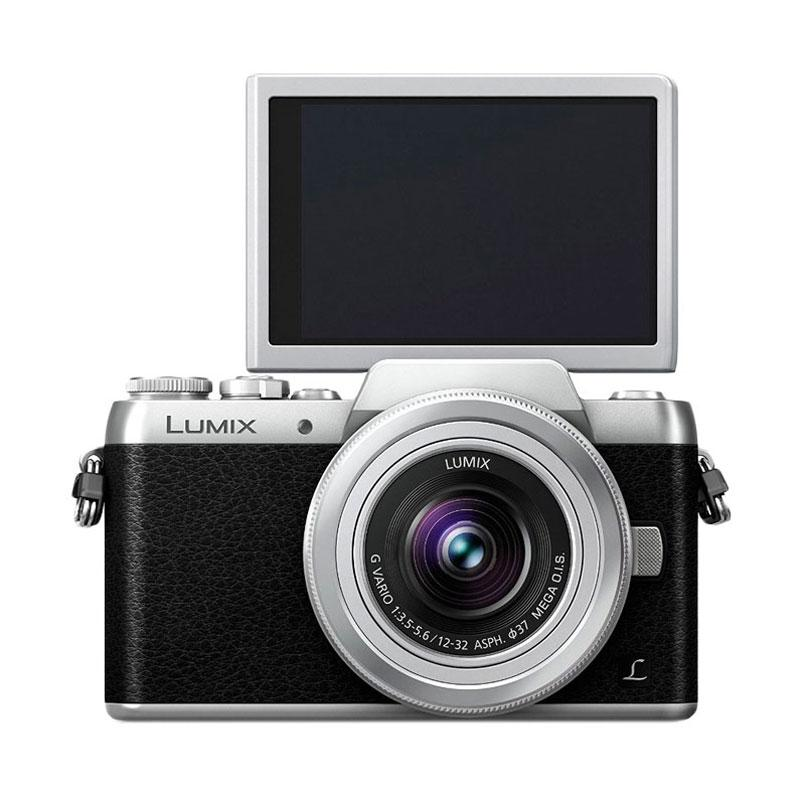 Panasonic Lumix DMC GF7 Kit 12-32mm Kamera Mirrorless - Silver