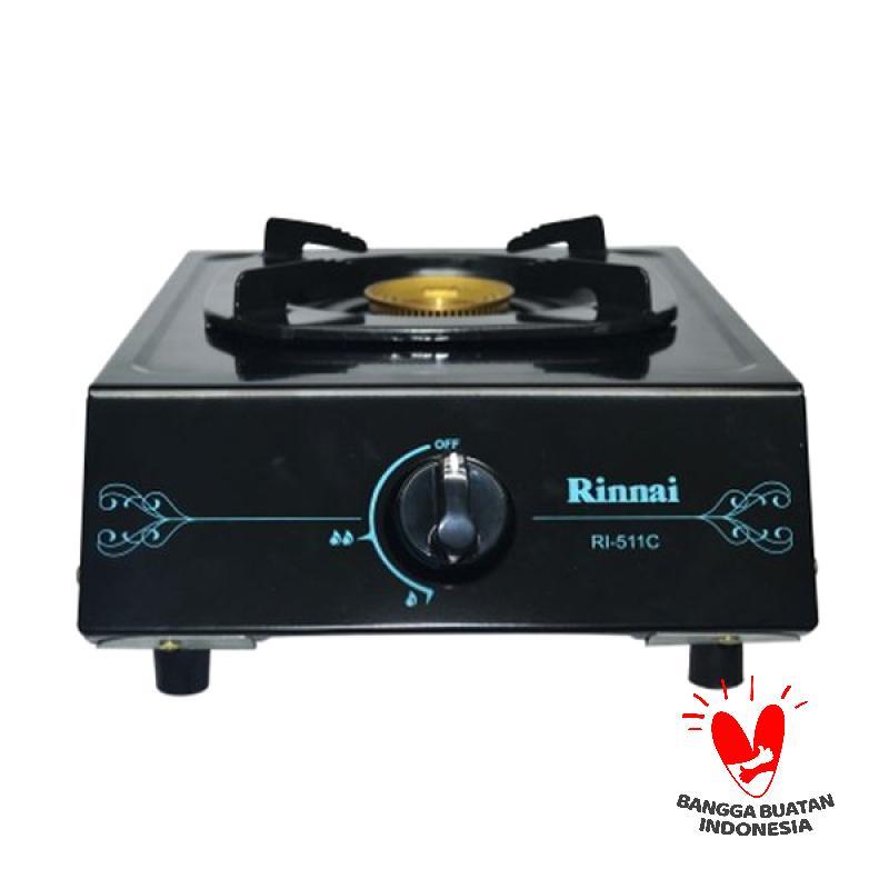 Rinnai RI 511 C Kompor Gas [1 Tungku/Ceflon]