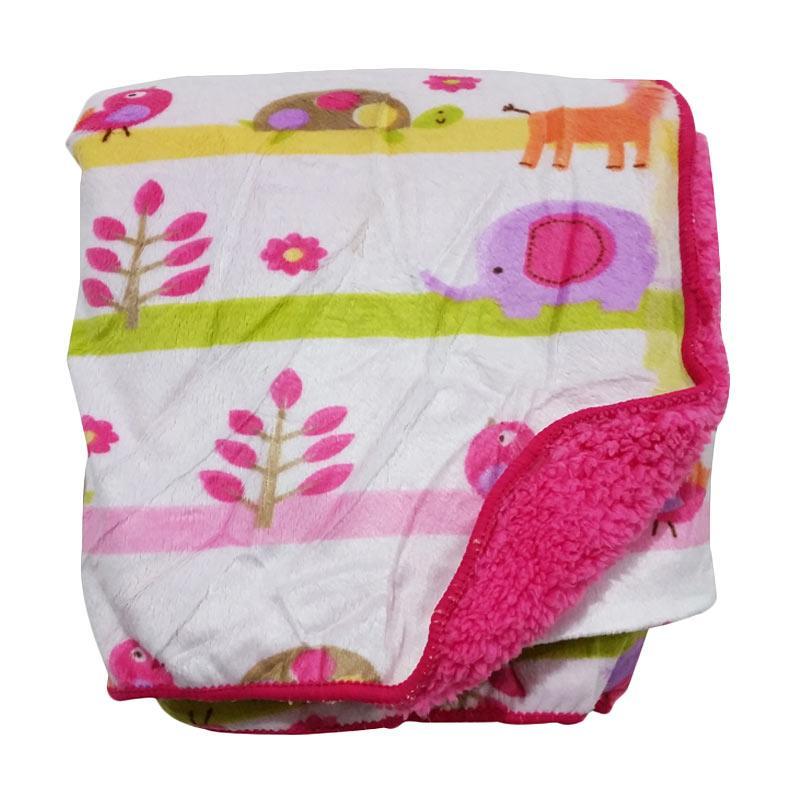 Chanel7 Carters Selimut Bayi - Pink Magenta