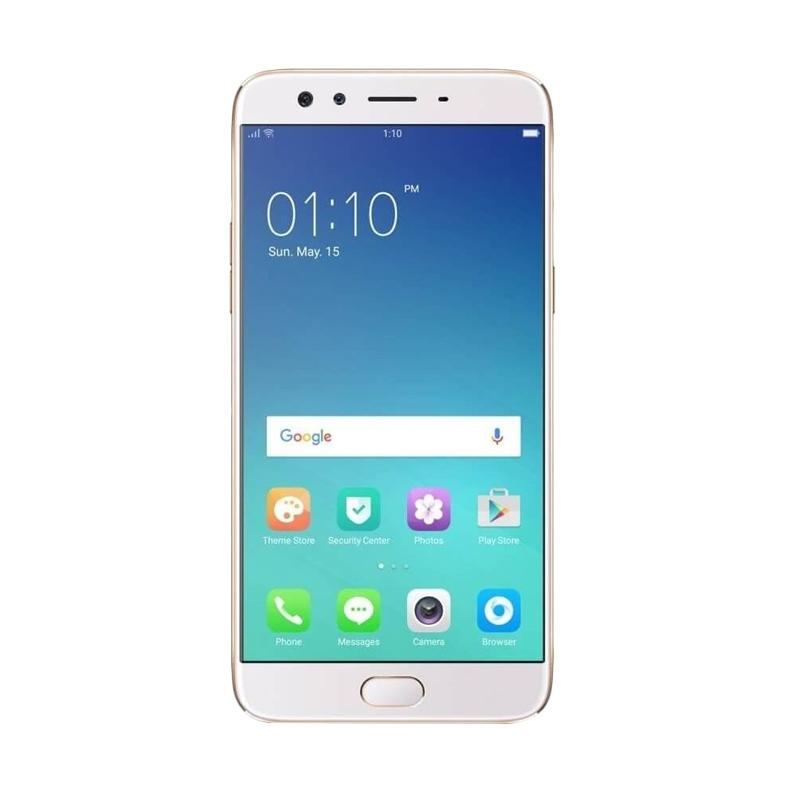 Oppo F3 Plus Smartphone - Gold [64GB/4GB] + Free Tongsis