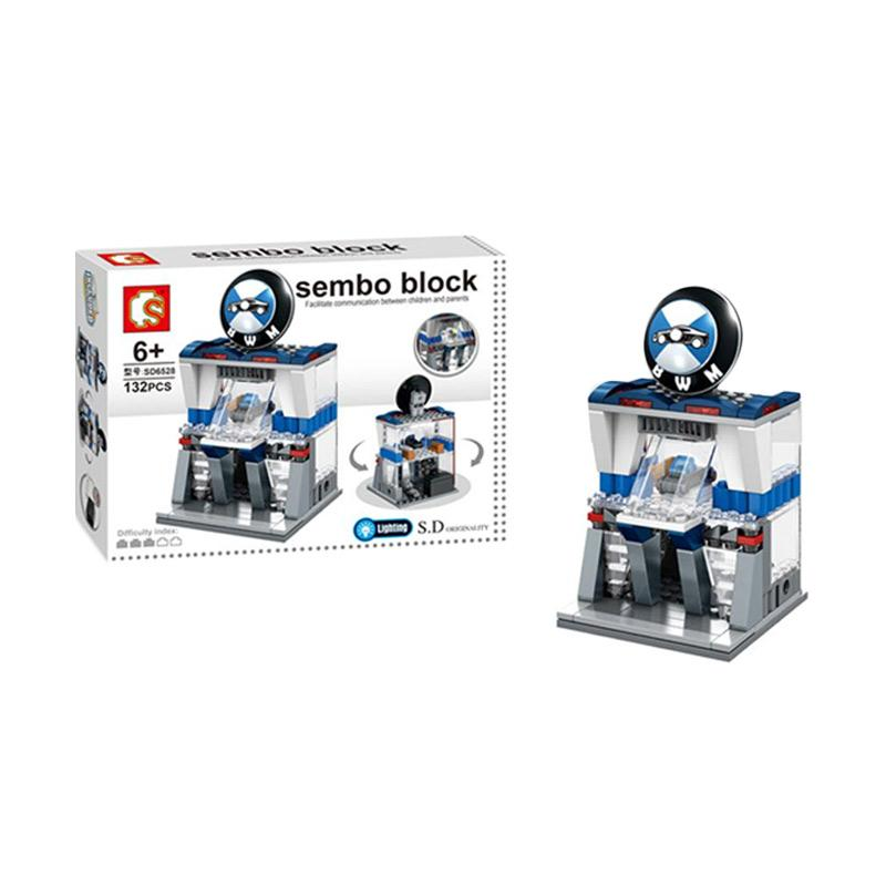 Sembo SD6528 BWM Mainan Mini Blocks
