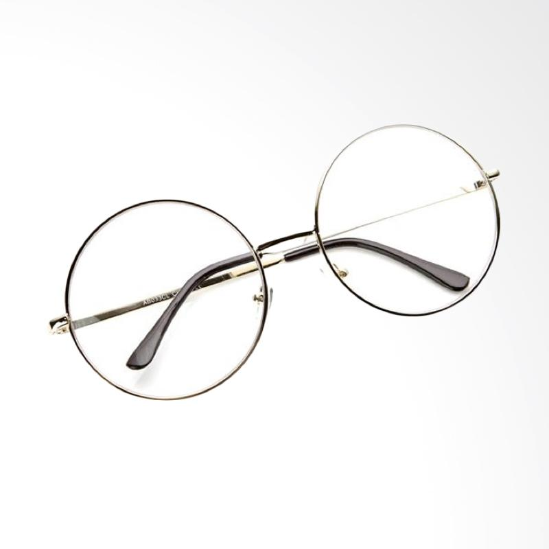 Jual OEM Bulat Korea Kacamata - Transparent  Frame Gold  RD124 ... d0a4b71d89
