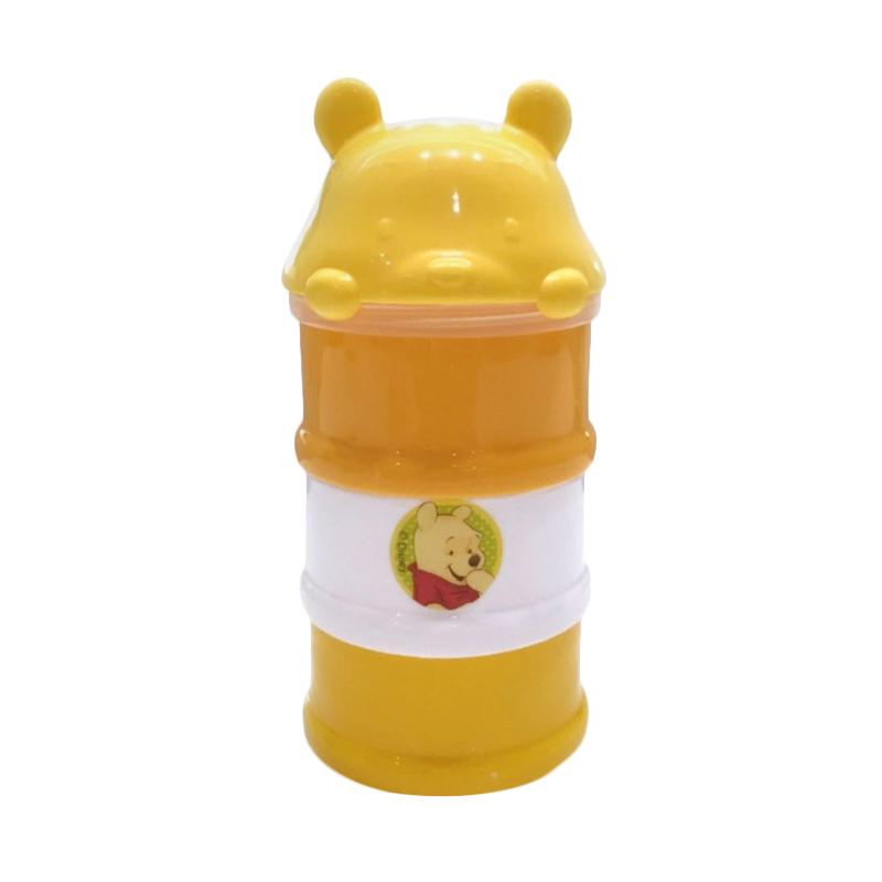 Kiddy Baby Milk Powder Container 3 Stage Pooh - Kuning