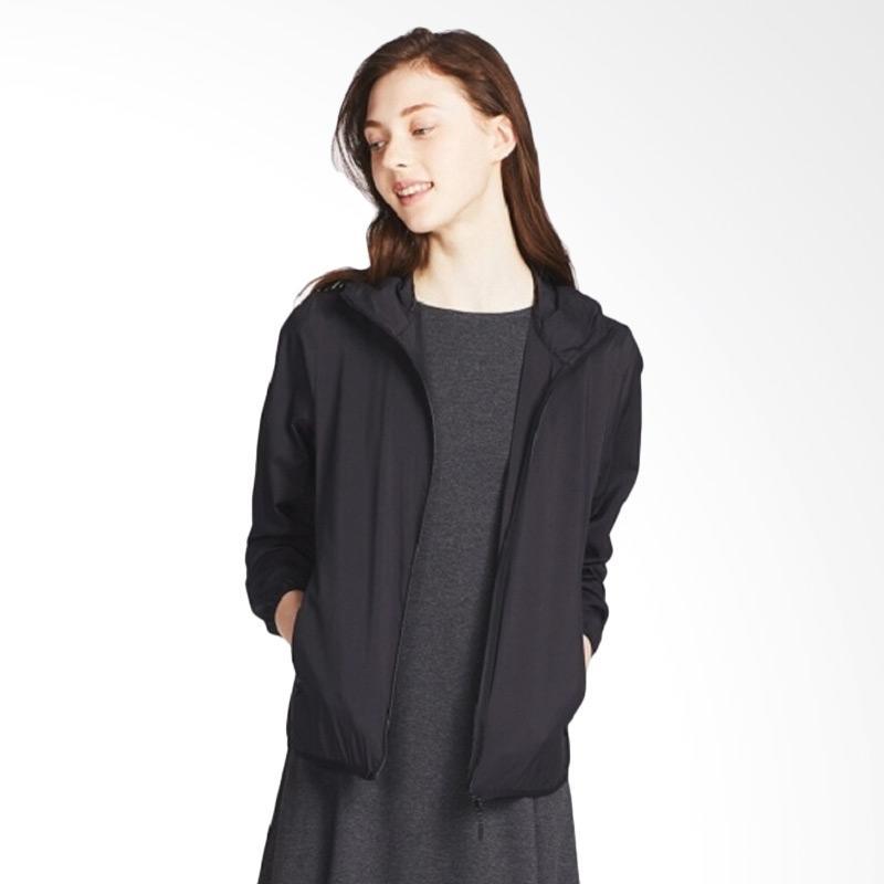harga UNIQLO Parka Pocketable Women Jacket - Black Blibli.com