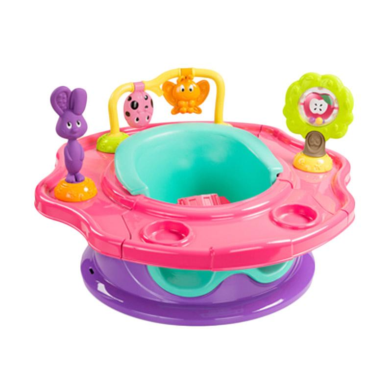 Summer Infant 13425 Super Seat 3 Stages Forest Friends Girl Kursi Makan Bayi