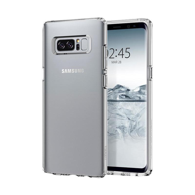 Spigen Liquid Crystal Casing for Galaxy Note 8 - Crystal Clear