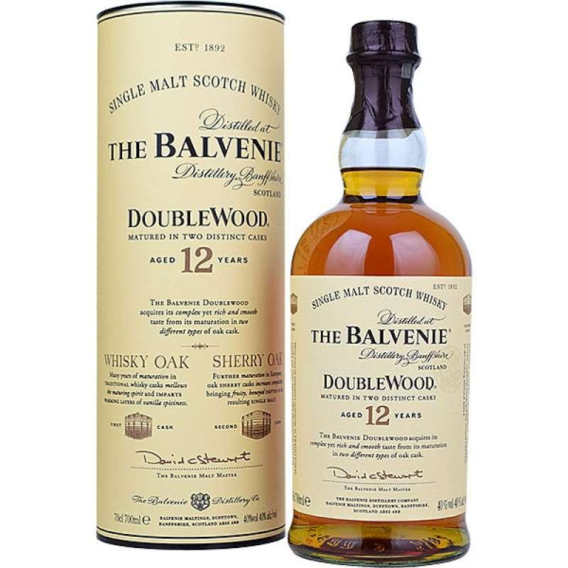 balvenie double wood single malt)