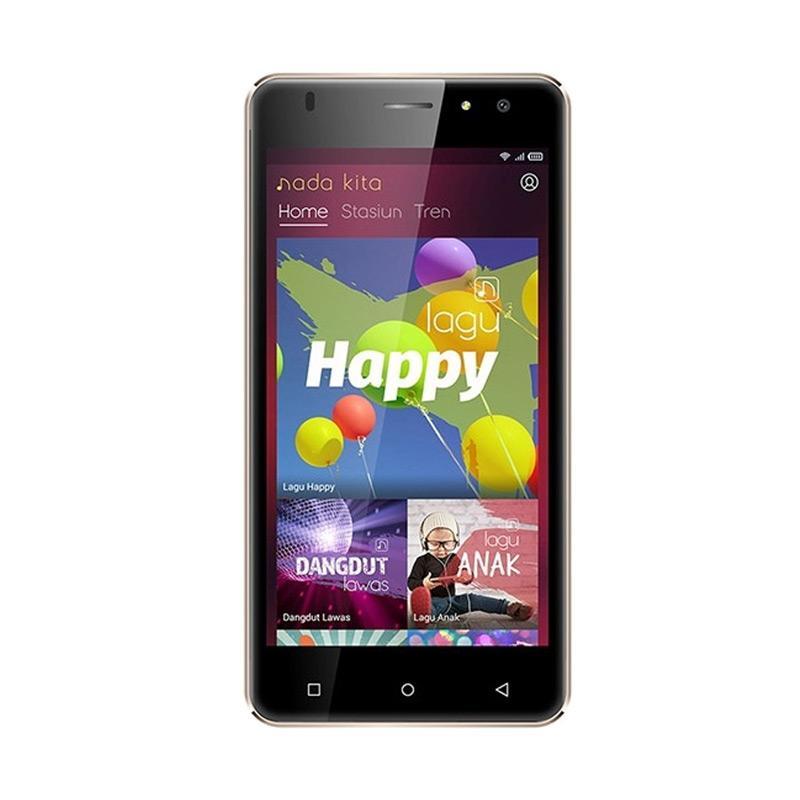 SPC Mobile L51 Blitz Smartphone - Gold [1 GB/8 GB]