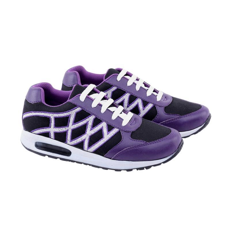 Garucci Sepatu Lari Wanita - Purple GLT 7240