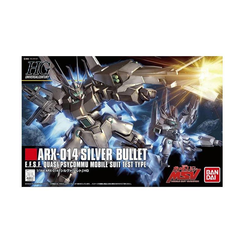Bandai HGUC ARX-014 Silver Bullet Model Kit [1 : 144]
