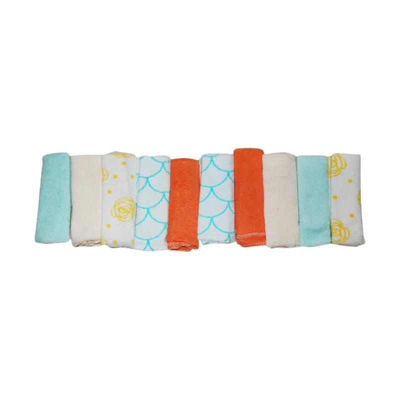 Wonderland Motif A6 Baby Washcloth Sapu Tangan Bayi