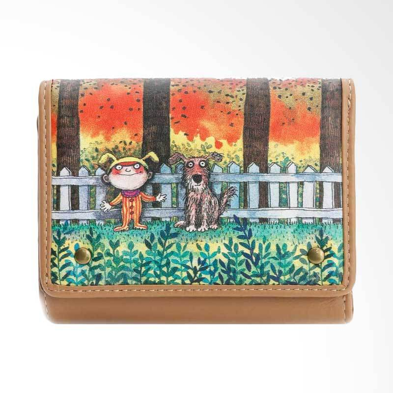 IPC Mansion Selected Jimmy Child and Dog Story Short Purse Dompet Wanita