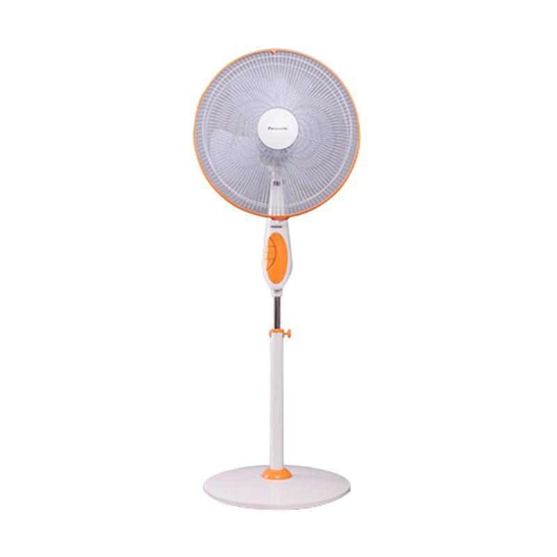 Panasonic Original F-EP405 Kipas Angin - Orange White