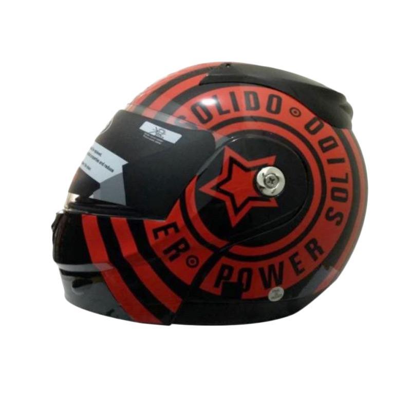 harga Snail Helmet FF991 Motif Solido Single Visor Helm Modular Blibli.com