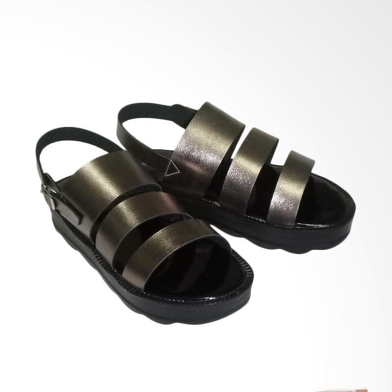 Anneliese Bella 3 Sepatu Wedges Wanita - Grey