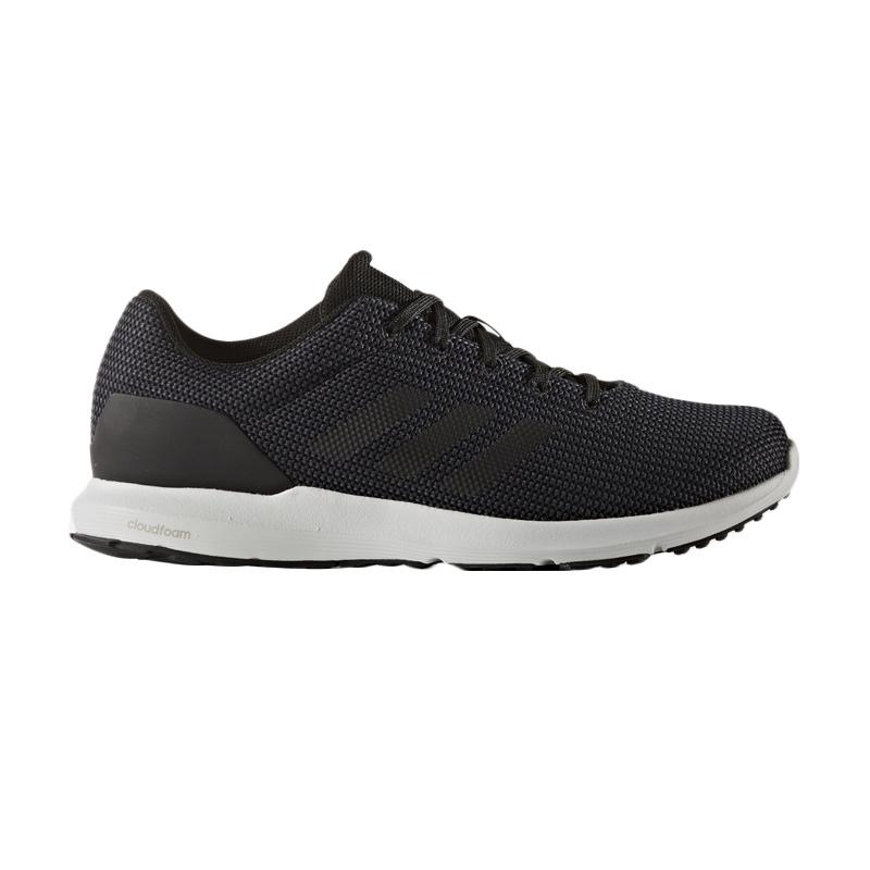 adidas Originals Cosmic Running Shoes Sepatu Lari Pria - Black White  M  BB4344  bab8fd30fc