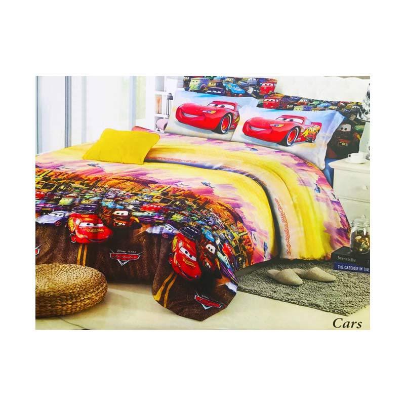 Best Furniture Best Romeo Cars Katun Import Seprai Anak - Merah [Uk 120x200]