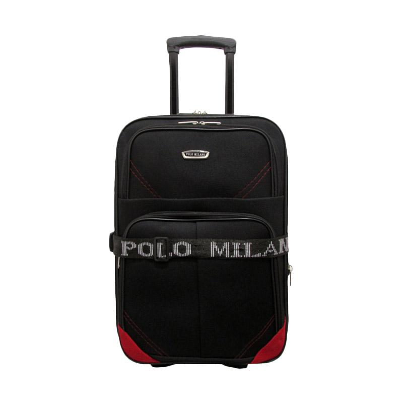 Polo Milano 219 Hard Case Koper - Red [20 Inch]