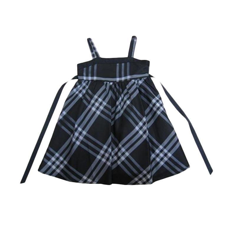 Wonderland Kotak Baby Dress - Hitam