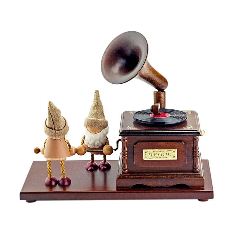 Yamaha Music Indonesia Gramophone Vintage Music Box
