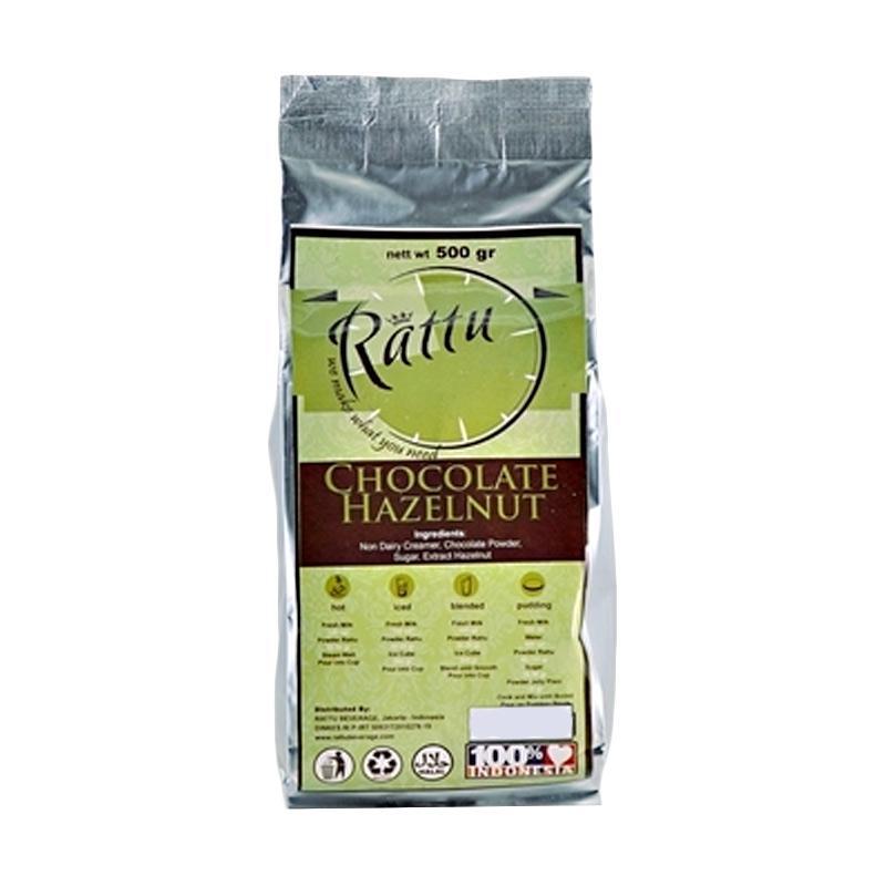 Rattu Beverage Chocolate Hazelnut Minuman Instan [500 g]