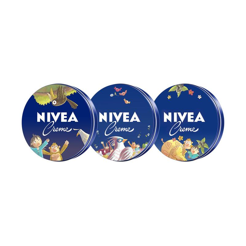 Nivea Creme Tin [3/ 60 mL] - Special Edition Lobu Storybook Complete Series