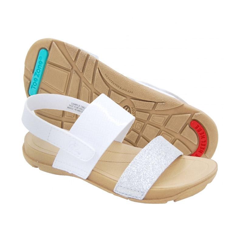 Toezone Kids Carly Ch Glitter Sepatu Sandal Anak - White