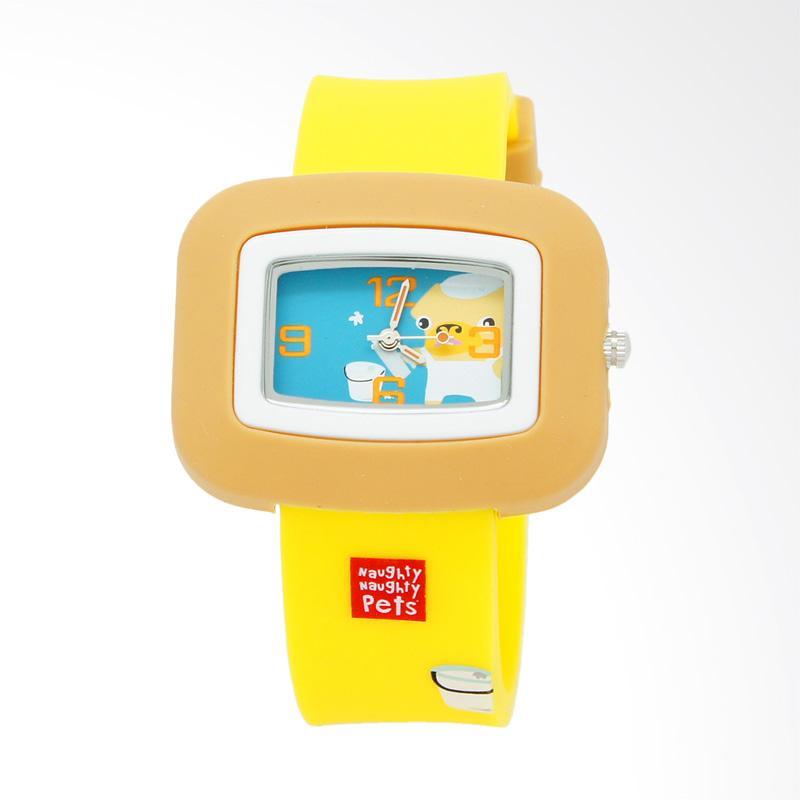 Naughty Naughty Pets NNP-83H Jam Tangan Anak - Yellow