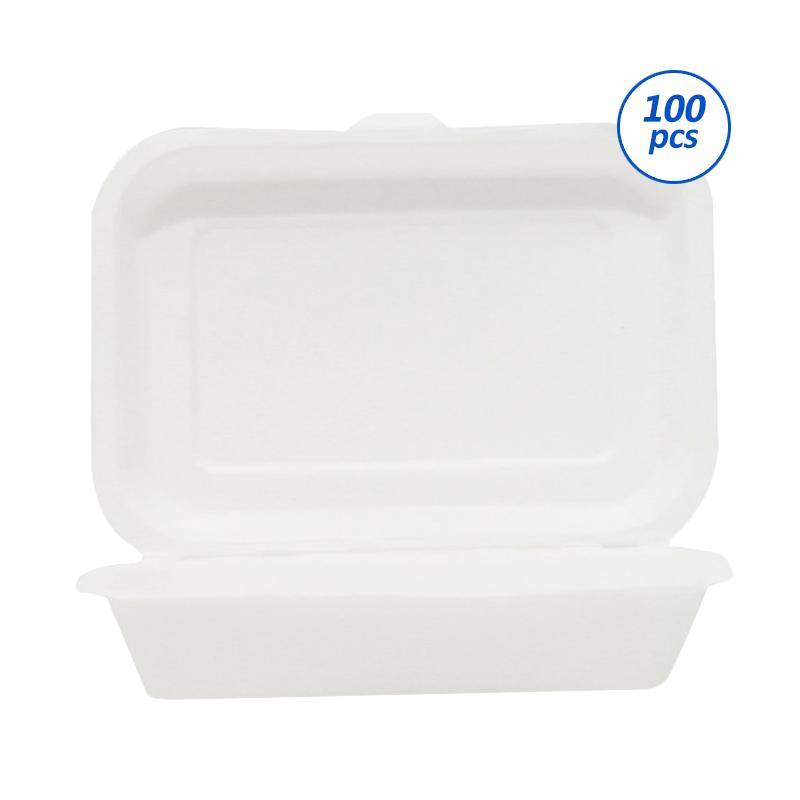 Avani Bagasse Food Box [450 mL/ 100 pcs]