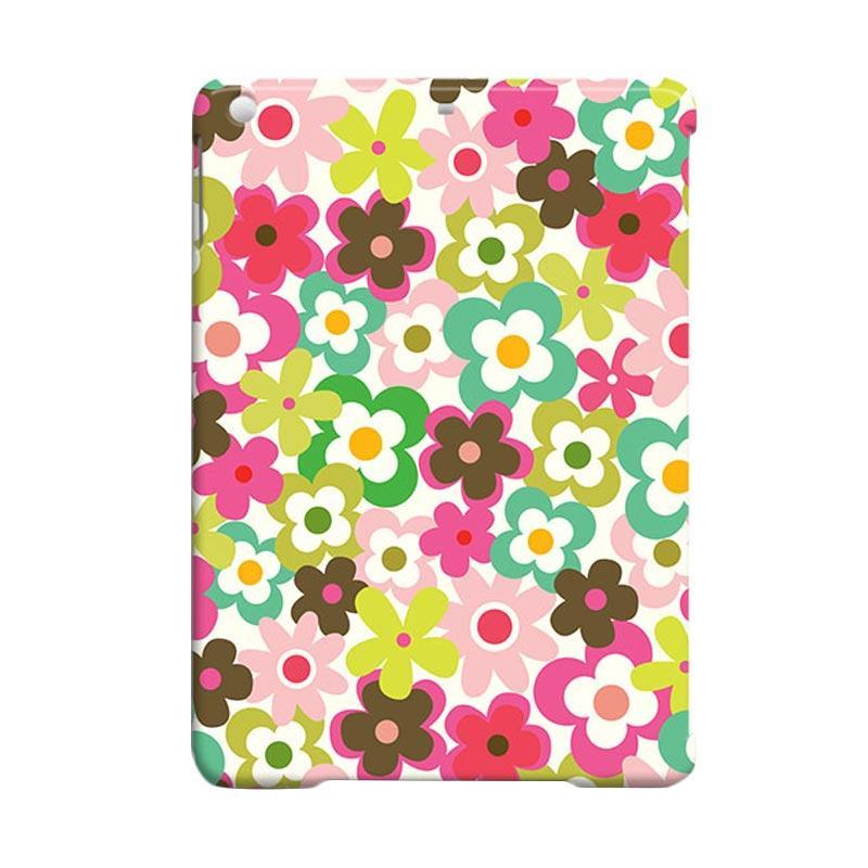 Premiumcaseid Cute Colorful Flower Hardcase Casing for iPad Air