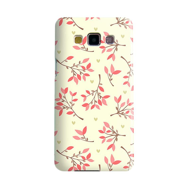 Premiumcaseid Cute Floral Seamless Shabby Hardcase Casing for Samsung Galaxy A3