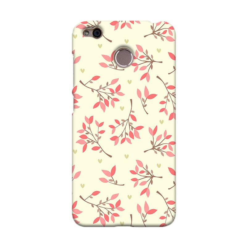 Premiumcaseid Cute Floral Seamless Shabby Cover Hardcase Casing for Xiaomi Redmi 4X