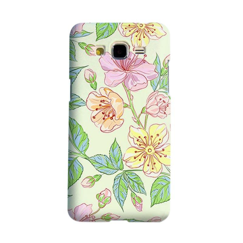 Premiumcaseid Beautiful Flower Wallpaper Cover Hardcase Casing for Samsung Galaxy Core 2